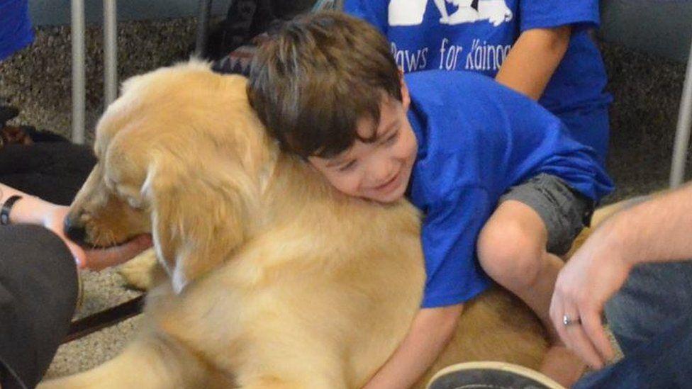 Service Dogs Break Down Autism Walls